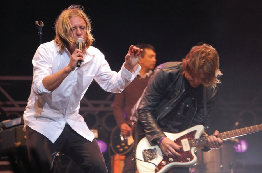 Switchfoot swings home on tour
