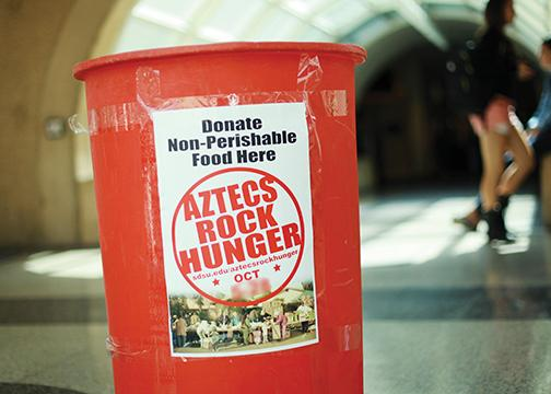 Aztecs Rock Hunger sets new goal