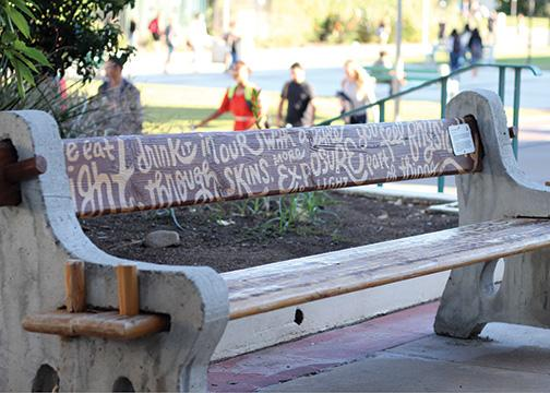 Benches receive bold revamping