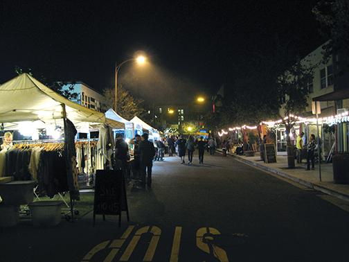 Art walk shines in North Park