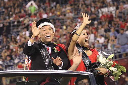 Stars collide for Homecoming royalty
