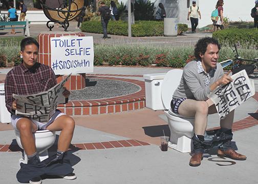 Campus flushes its reputation