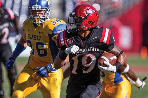 SDSU clinches fifth straight bowl game with win against Spartans