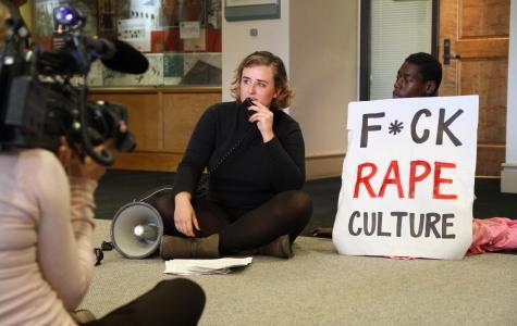 Students present demands to prevent sexual assault