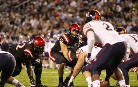Aztecs drop close one to Navy in Poinsettia Bowl