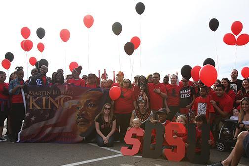 SDSU partakes in MLK Parade