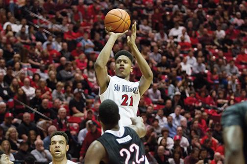 SDSU cages the Bulldogs in Viejas