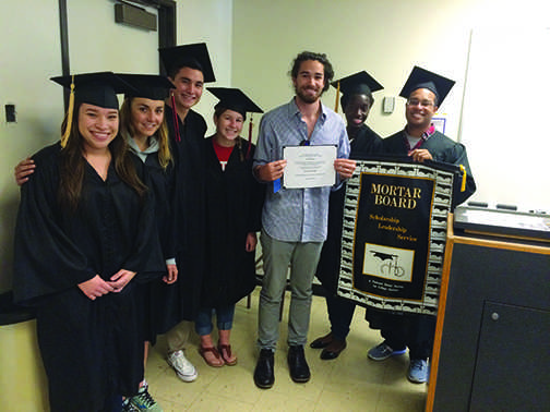 Mortar Board awards scholarship to two worthy students