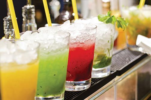 Freshmen report low alcohol intake