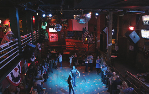 Country bar in cahoots with dancers