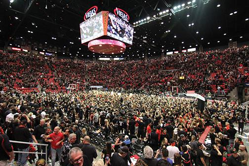Court storming is a fan birthright