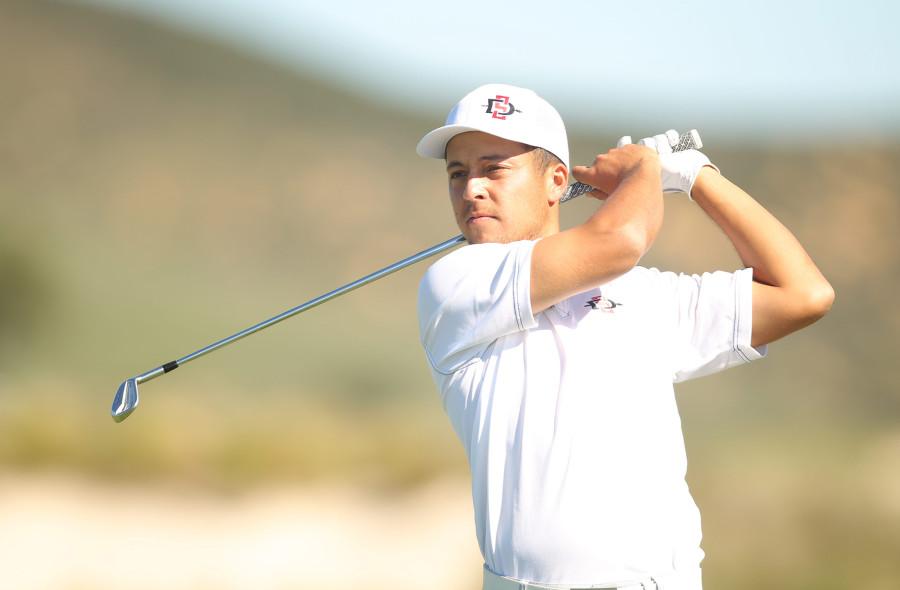 Xander Schauffele SDSU golf swing