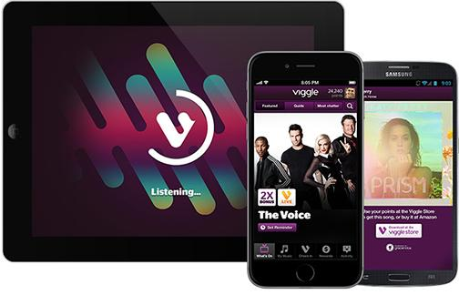 Viggle app rewards media consumers