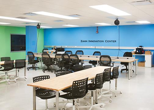 The Zahn Centers finds a new home inside the Education and Business Administration Building.