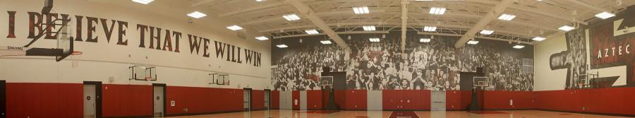 SDSU unveils new basketball practice facility