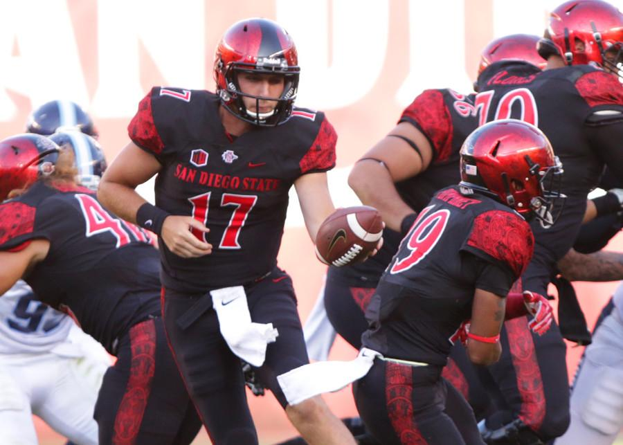 Quarterback appears to be weak spot for San Diego State yet again
