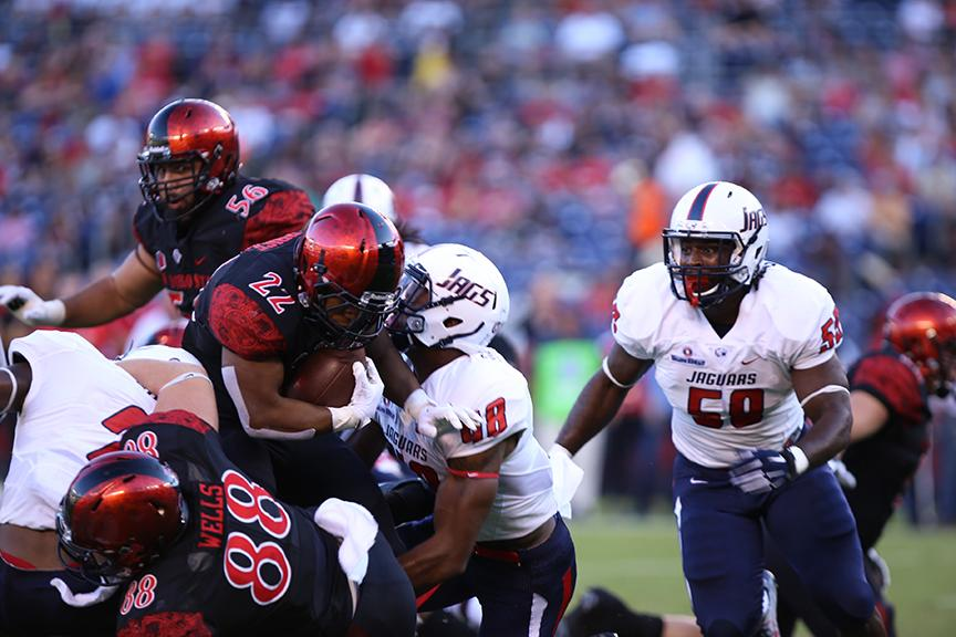 Aztec football loses see-saw 34-27 overtime game to South Alabama