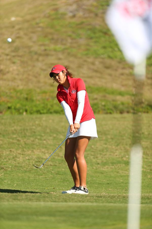 SDSU womens golf: Blairs course brings her to California