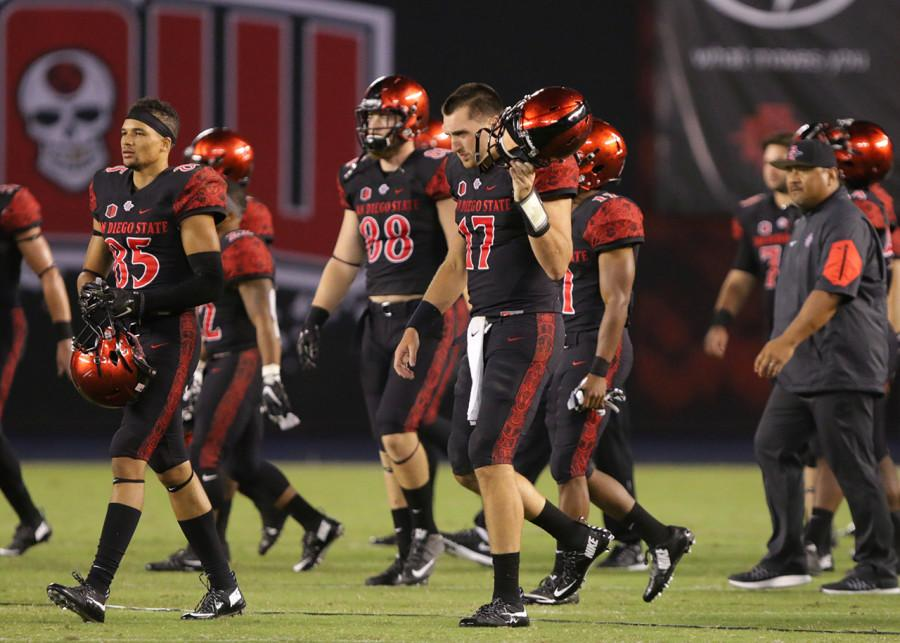 SDSU football cant keep up with Cal offense, loses 35-7