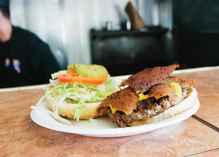 Burger dishes have Greek twist