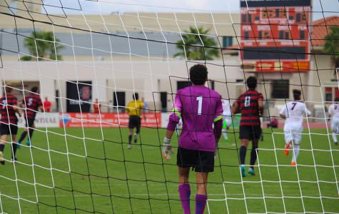 SDSU men's soccer falls short against No. 3 Stanford