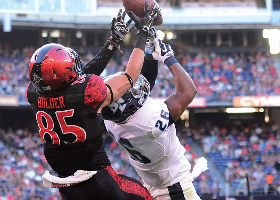 SDSU's Mikah Holder upholds family tradition of toughness