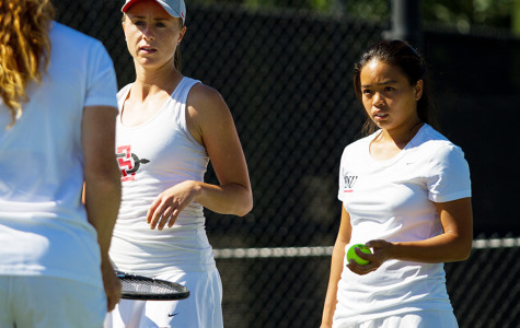 Tennis runs in the family for SDSU's Nguyen