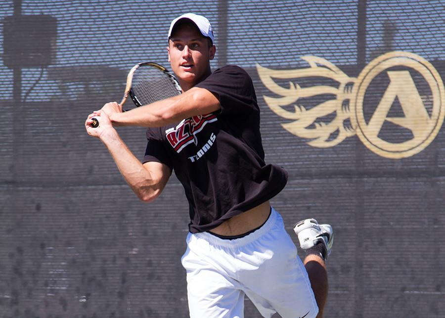 SDSU men's tennis doubles up on practice