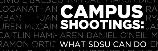 Campus Shootings: What SDSU can do