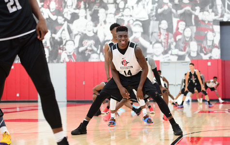 SDSU men's hoops opens practice for 2015-16 season