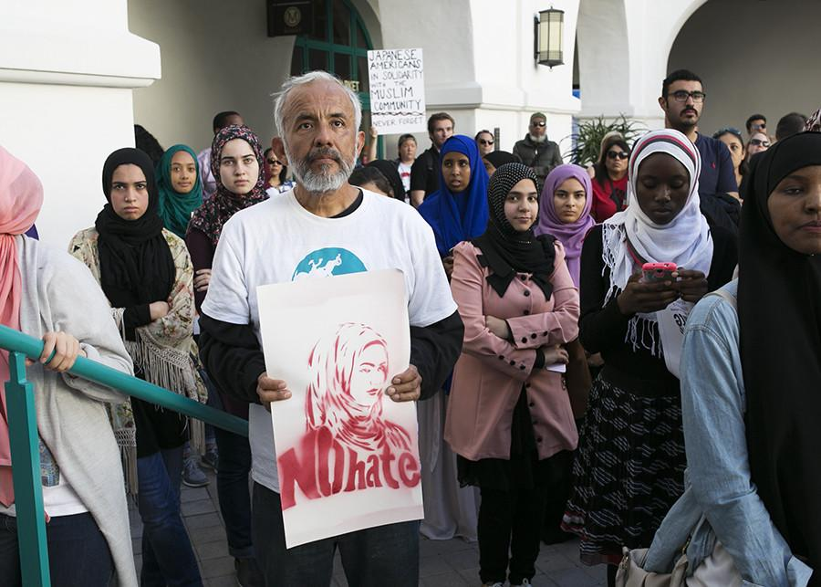 SDSU students demand action against Islamophobia on campus