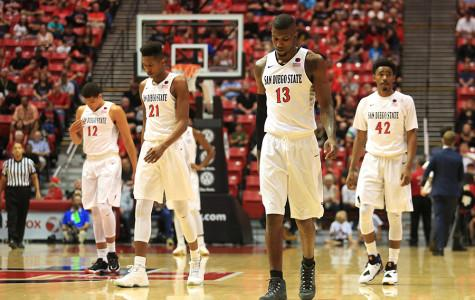SDSU basketball upset at home 49-43 by Little Rock