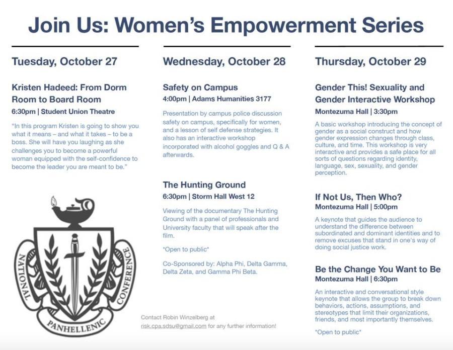 Series on women empowerment comes to SDSU