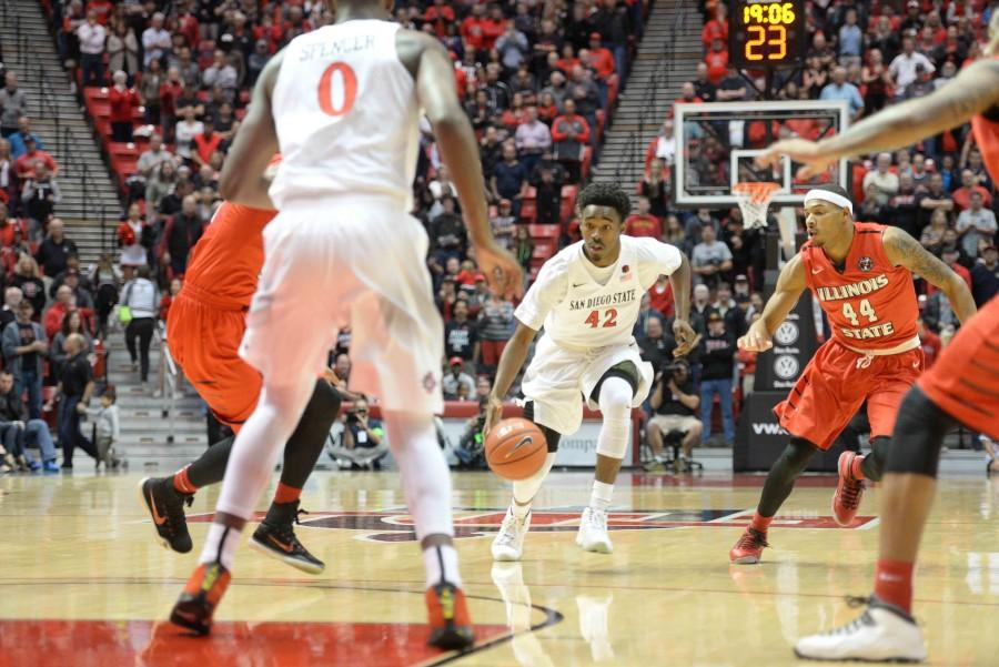 Hemsley and Allen pave the way for Aztecs in 71-60 victory over Illinois State