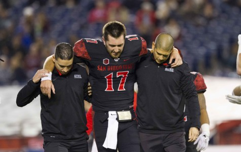 SDSU finishes Mountain West undefeated, but Max Smith hurt