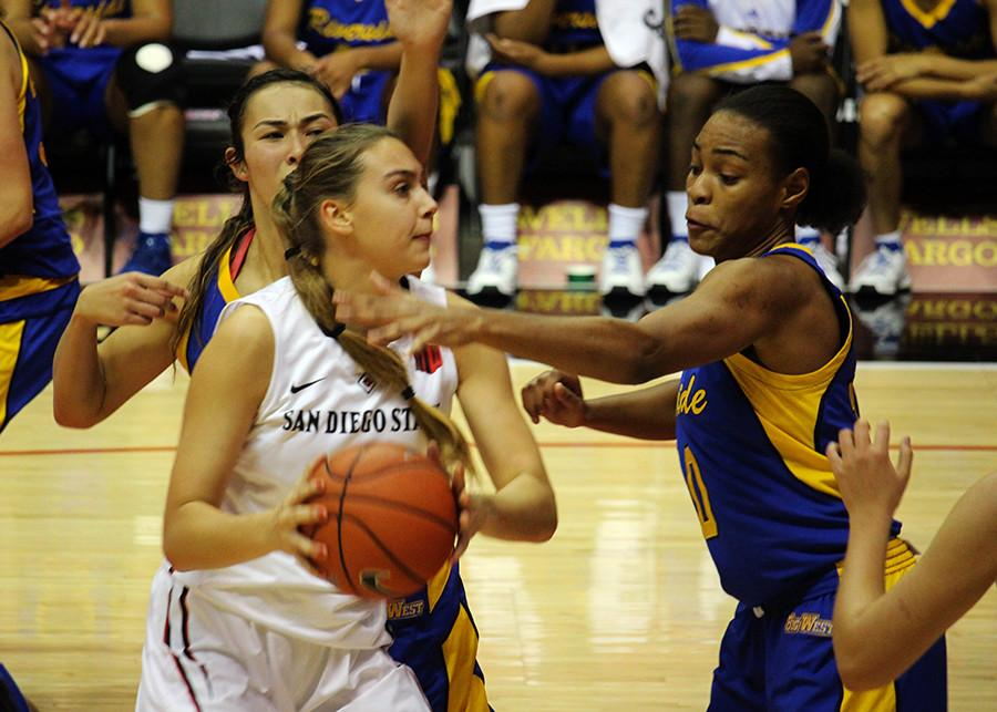 SDSU women's basketball looks to end 6-game skid against Nevada