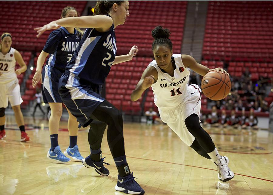 Aztecs women's basketball remains winless in 2016 after tough 54-49 loss to Fresno State