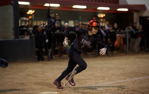 Late-inning error helps SDSU softball gain split of doubleheader against Colorado State