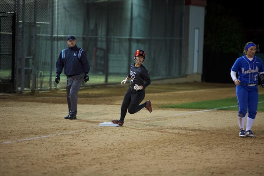Lack of offense keeps SDSU softball from taking series over Colorado State