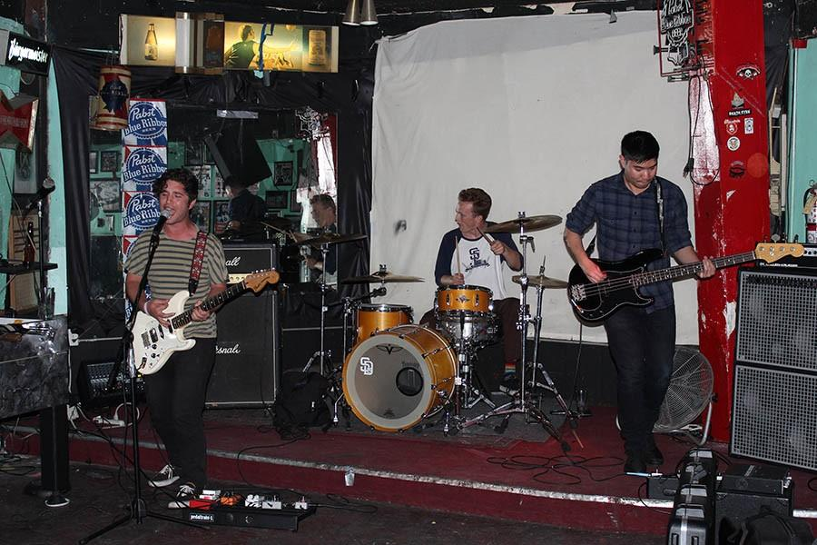 Alumni rock band wilds out with raw energy and angst