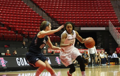 SDSU women's hoops advances to MW Tournament quarterfinals over Wyoming