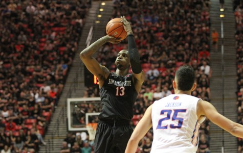 SDSU basketball gets blowout win over UNLV, 92-56, on emotional senior night