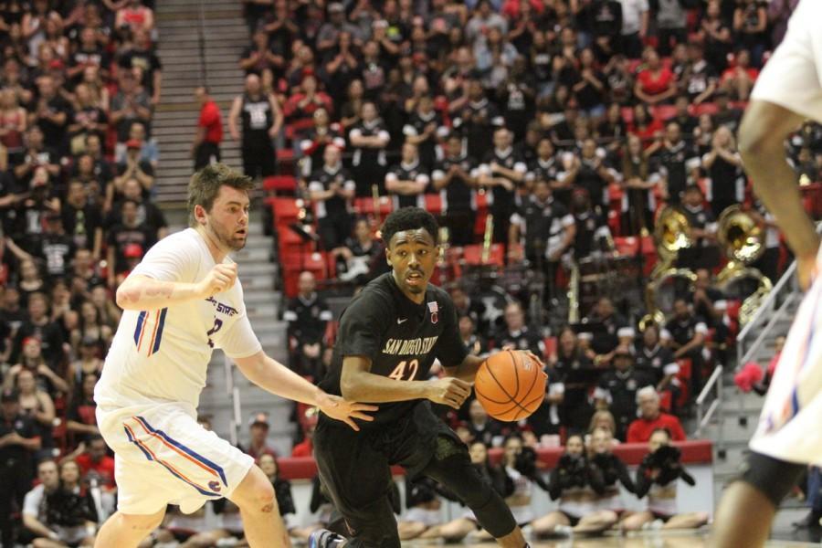 Mens basketball vs Boise