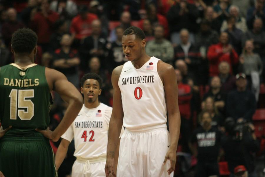 Missed free throws lead to SDSU men's basketball being stunned by Boise State, 66-63