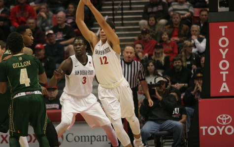 Mythical streak vanishes in a heartbeat for SDSU men's basketball