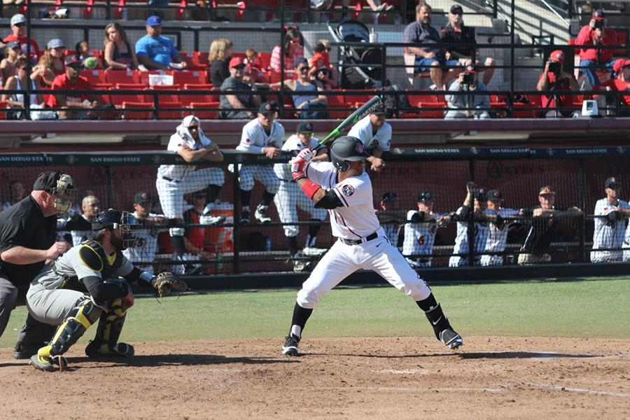 SDSU Baseball overpowered by Oregon in 10-5 loss