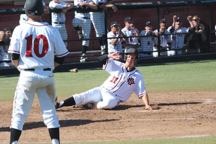 SDSU+Baseball+drops+slugfest+to+Air+Force%2C+17-13