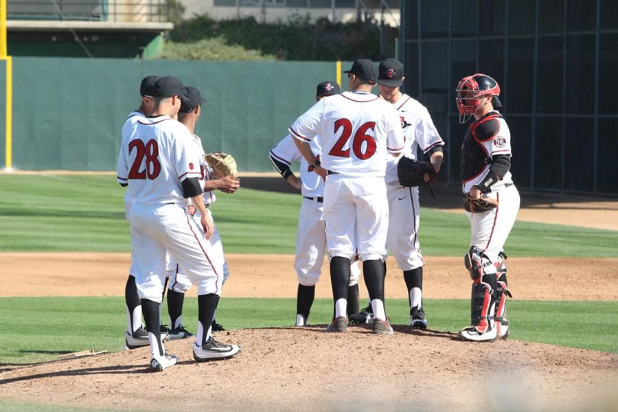 SDSU baseball loses second game of series to Fresno State, 10-5