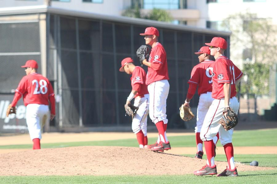 SDSU+baseball+secures+first+MW+series+victory+of+season+with+4-2+win+over+UNLV