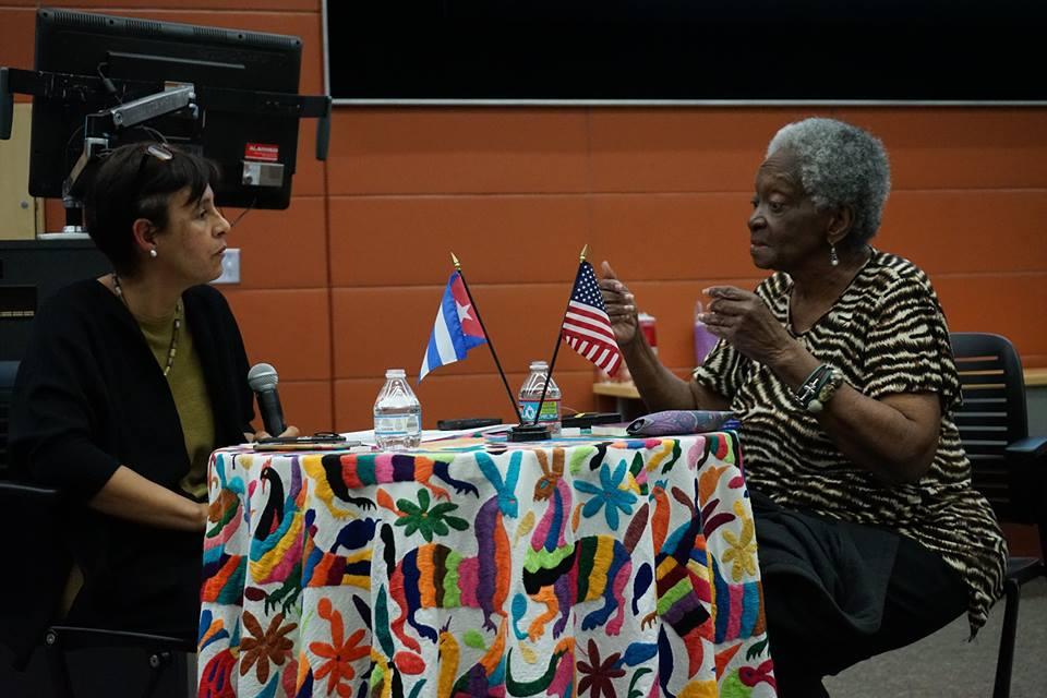 Herrera y Iglesias-Prieto durante la presentación. Foto de Jose Guzman